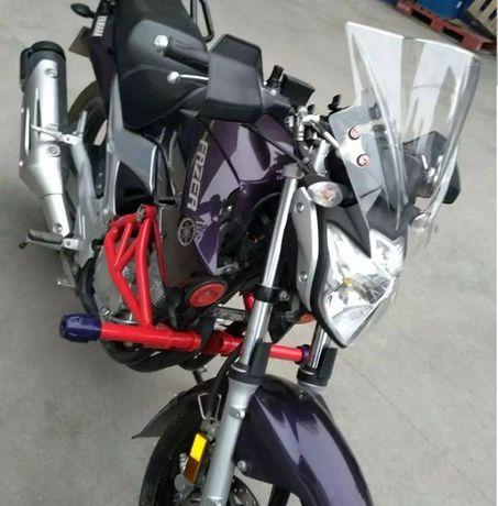 Ветровик на мотоцикл, универсальное ветровое стекло крепление на руль
