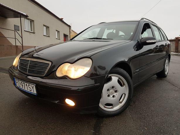 *Mercedes C180*benzynka*klima*ładny*zamiana