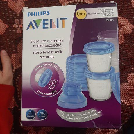 контейнери для зберігання грудного молока