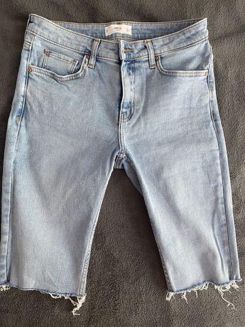Jeansowe kolarki najnowszy trend MANGO 38