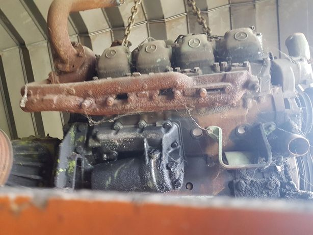 Двигатель MERCEDES-BENZ OM 402 LA для комбайна CLAAS Jaguar