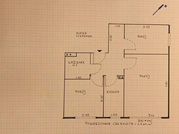 Mieszkanie 3-pokojowe z garażem. Znakomita lokalizacja.