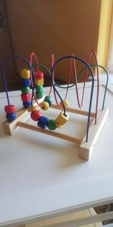 IKEA Mula - zabawka edukacyjna przekładanka