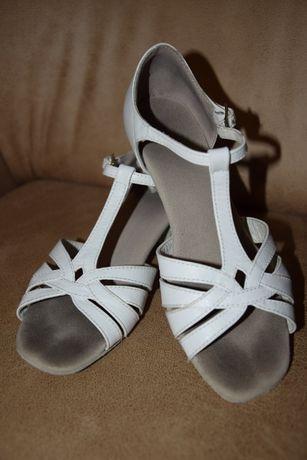 Туфли для бальных танцев блок-каблук, стелька 21,5 см