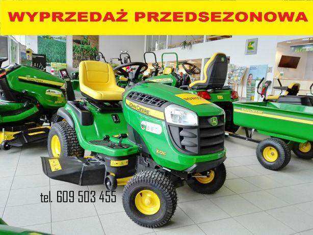 Kosiarka John Deere x126 traktorek ogrodowy ciągnik ogrodniczy NOWY