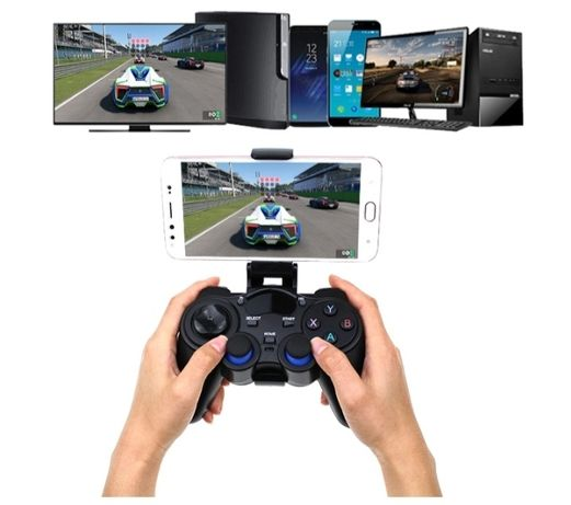 Bezprzewodowy gamepad do gier Android Tv Box, Tablet, Tv Smart