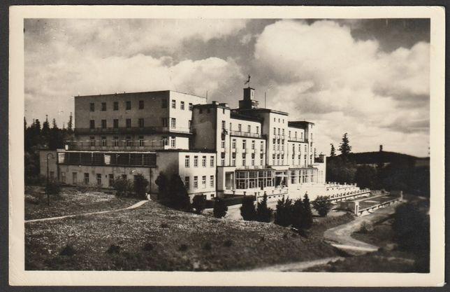 pocztówka - Iwonicz Zdrój 1956 - sanatorium Excelsior