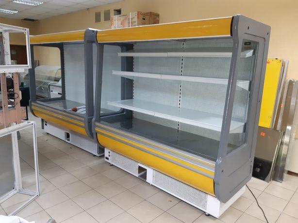 холодильная пристенная горка Cold 2м