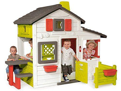 БЕСПЛ.ДОСТАВКА Домик дом для детей Smoby 310209 Friends House Floralie