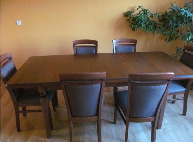 Sprzedam stół z krzesłami BRW Bawaria