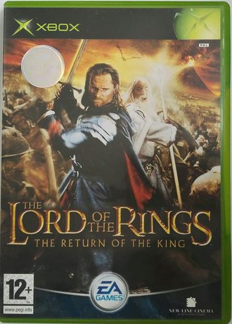 """Gra na Xbox Classic """"Lord of the rings: Return of the king"""" wersja ang"""