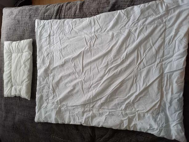Kolderka i poduszka do łóżeczka dziecięcego 90x120 +  2 poszewki