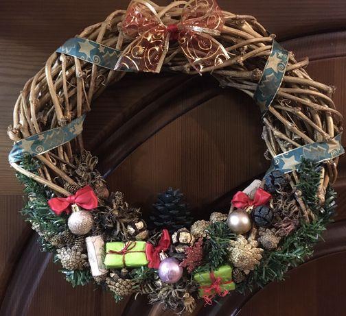 вінок різдвяний, новорічний