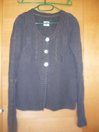 kw tylko 6,80 Sweter H&M cotton nie 'gryzie' ciemnoszary unikalny wzór