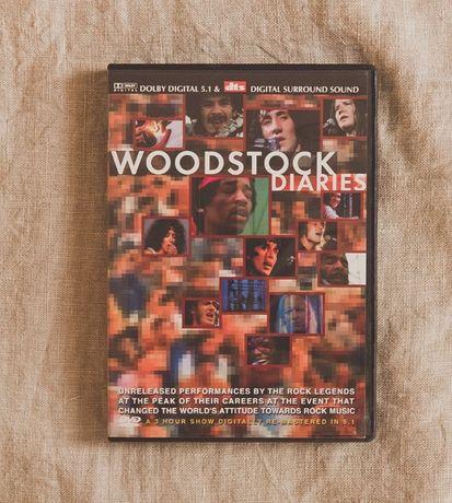 Woodstock Diaries DVD festiwal legendy rocka
