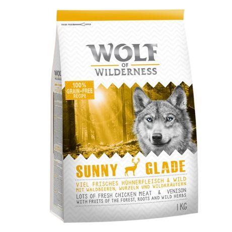 Wolf of Wilderness Sunny Glade, jeleń 1KG karma