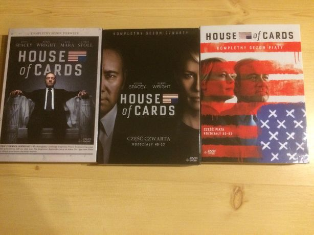 House of cards Sezon 1 DVD serial I