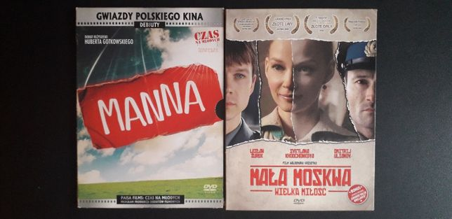 Mała Moskwa, Manna, Sęp - komplet polskich filmów DVD