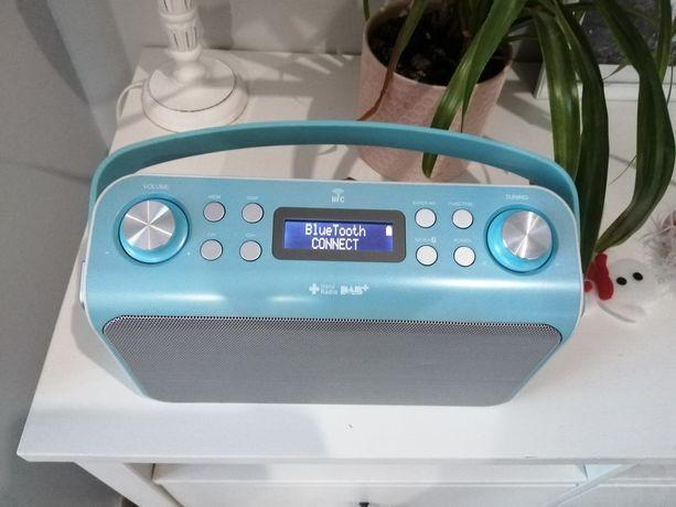 Radio przenośne z bluetooth usb akumulator