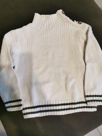 Sweterek jesienny h&m
