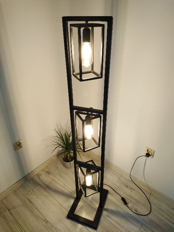 Lampa stojąca industrialna LOFT