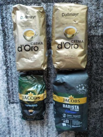 Zestaw kaw, Dallmayr, Jacobs, ziarniste!