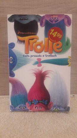 """Książka dla dzieci pt. """"Trolle"""" (bajka kinowa Dream Works) + płyta DVD"""