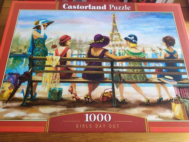 """Puzzle 1000 """"Dziewczyny dzień wolny"""" Castorland"""