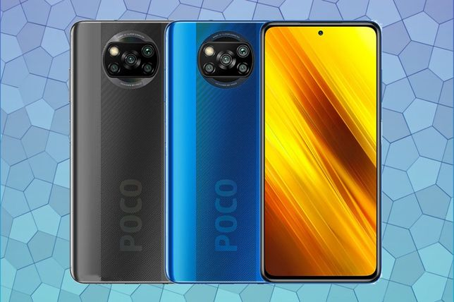 Xiaomi Poco X3 NFC Blue Grey (6\128GB 6\64GB) гарантія