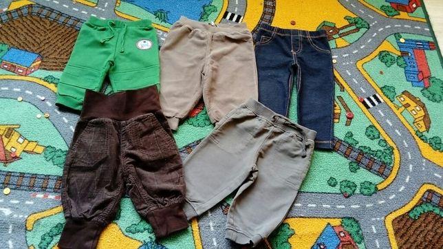 Spodnie niemowlęce rozm. 62/68 - markowe : LUPILU, COOL CLUB ETC.