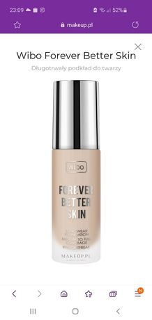 Forever better skin. Wibo. Nr 2. Warm beige.