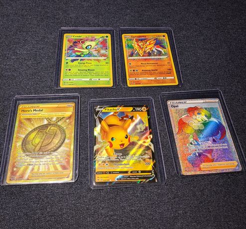 Karty Pokemon Vivid Voltage dużo rare i holo