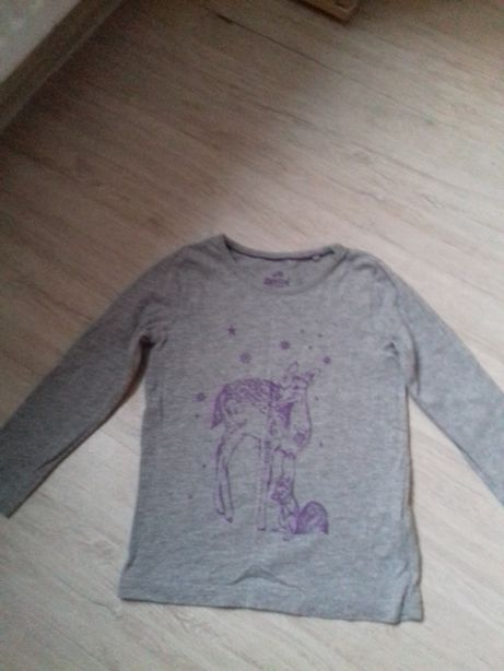 Koszulka,z dlugim rękawem lupilu 98-104