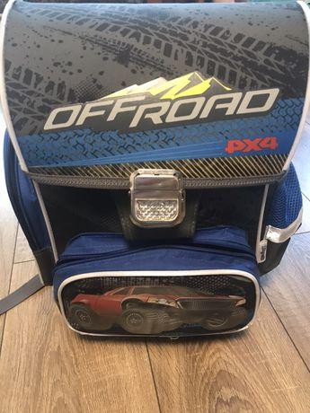 Рюкзак (портфель) 1 вересня каркасный ортопедическая спинка