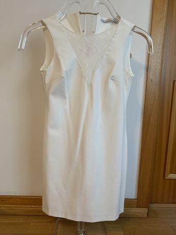 Vestido branco da Zara