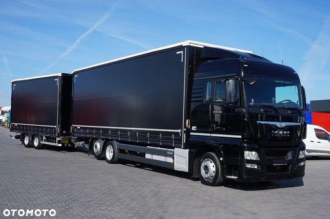 MAN TGX 26.400  MAN TGX 26.400 8,9m 2014r. + 6,5m EURO 6 możliwość sprzedaży osobno