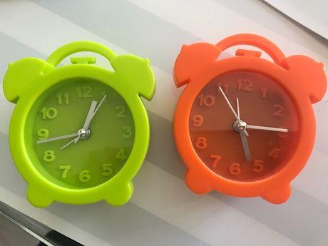 Relógio despertador ponteiros a pilhas criança