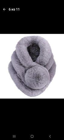 Новый мягенький шарф на зиму