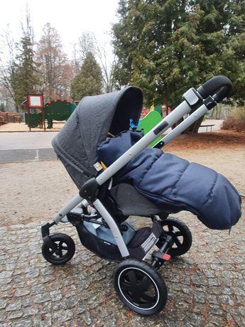 Wózek spacerówka MaxiCosi Stella Sparkling Grey dożywotnia gwarancja