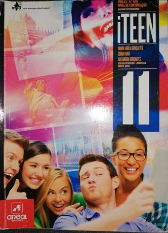 Livros e cadernos de actividades de Inglês iTeen 11° ano