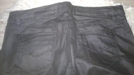 Spodnie ORSAY metalizowane jak NOWE