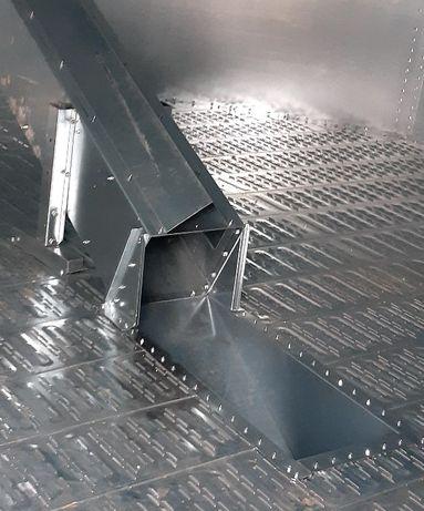 Przedłużenie rękawa rozładowczego pod podłogę BIN