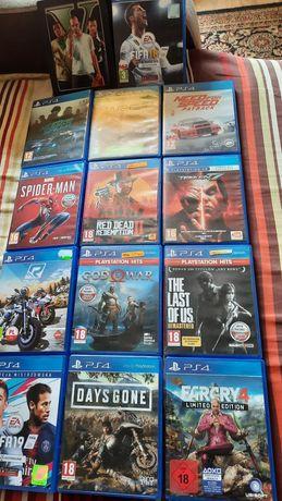 Gry ps4 zestaw 14 gier.