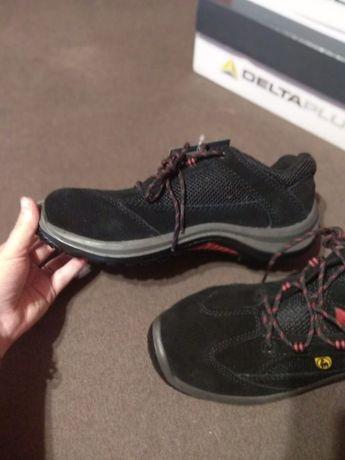 Новые защитные кроссовки, 40 размер, кожа