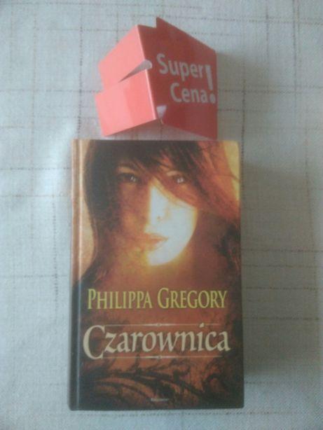 """książka """"czarownica"""" Philippa Gregory"""