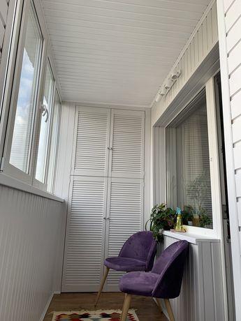 Обшивка балконов. Балкон под ключ.установка, ремонт мп окон