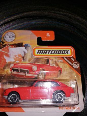 Matchbox 1971 mgb coupe
