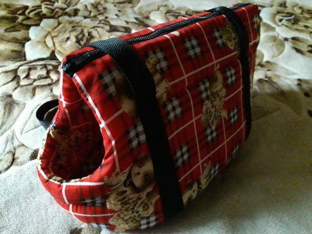 переноска сумка для не крупных собак мелких собачек новая