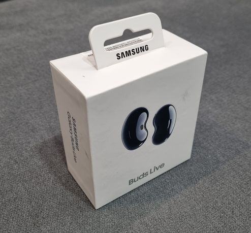 Słuchawki Samsung Galaxy Buds Live Mystic Black Czarne NOWE Oryginalne