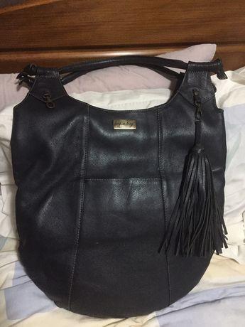 Mala artesanal em pele Beg a Bag